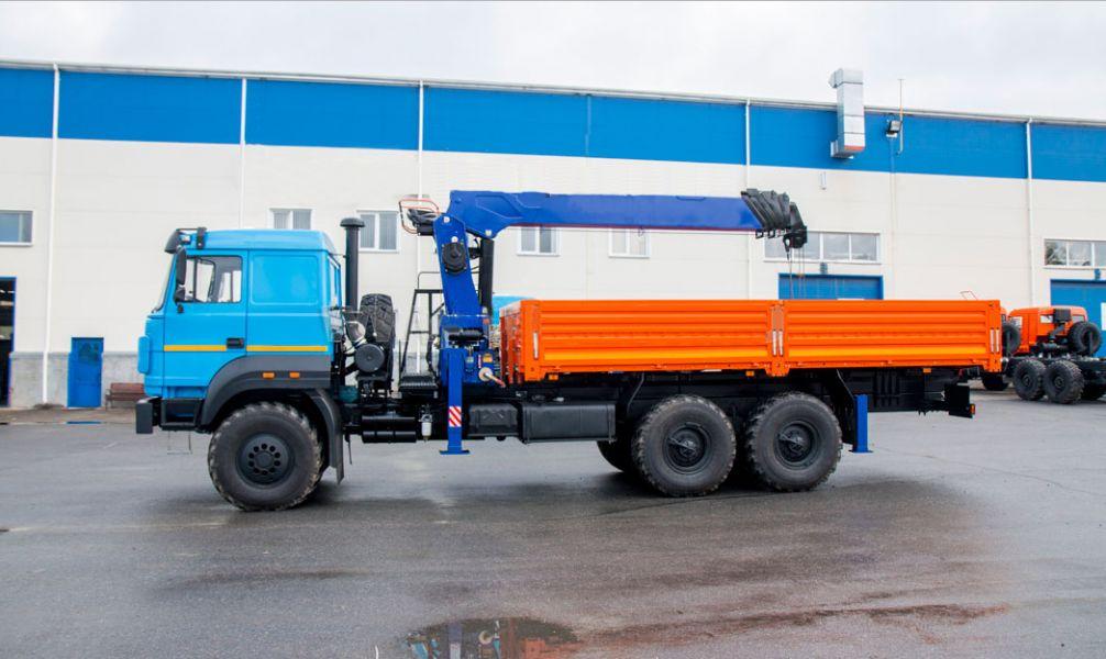 Манипулятор на базе вездехода Урал 6х6