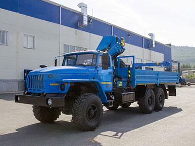 Манипулятор-вездеход Урал 4320