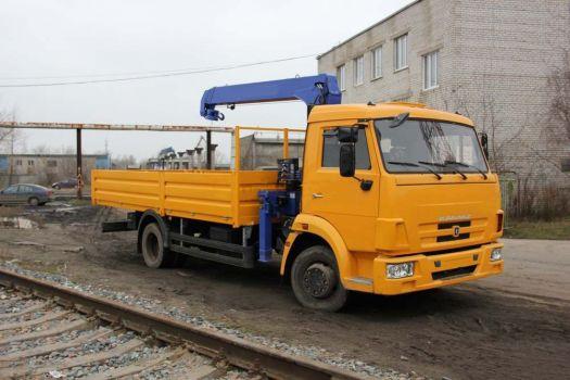 Манипулятор КамАЗ 4308